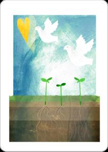 Inner Peace Oracle Card