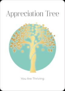 Appreciation Tree Oracle Card