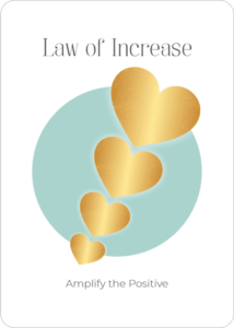 Law of Increase Oracle Card