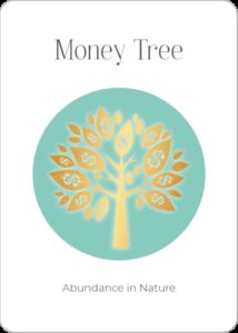 Money Tree Oracle Card