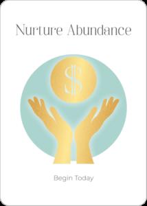 Nurture Abundance Oracle Card