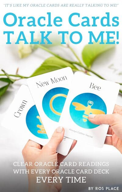Oracle Cards Talk to Me Book Cover