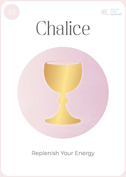 Positive YOU Chalice Card