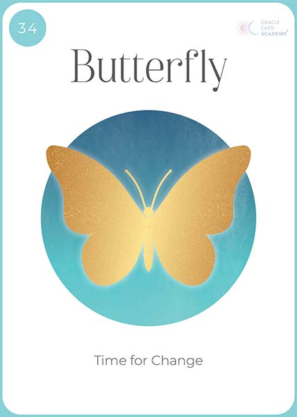 Positive YOU Butterfly Card
