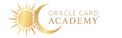 Oracle Card Academy Logo Gold