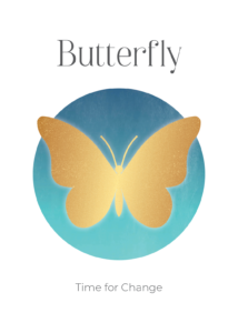 Butterfly Power Symbols Oracle Card Academy Ros Place