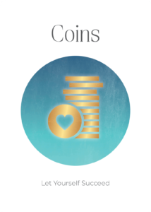 Coins Power Symbols Oracle Card Academy Ros Place