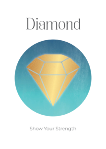 Diamond Power Symbols Oracle Card Academy Ros Place