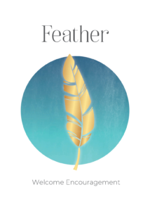 Feather Power Symbols Oracle Card Academy Ros Place