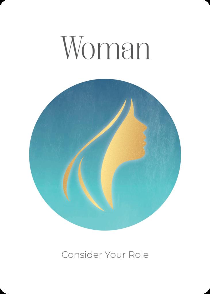 Woman Power Symbol Oracle Card Academy