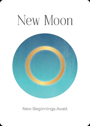 New Moon Oracle Card Academy