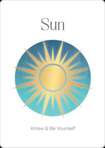 Power Symbols Oracle Card Sun