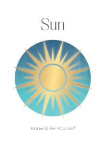 Sun Power Symbols Oracle Card Academy Ros Place